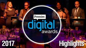 Thumbnail for entry Highlights: Premier Digital Awards 2017