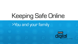 Thumbnail for entry Keeping Safe Online // You and your family