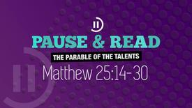 The Parable of the Talents // Premier Youthwork