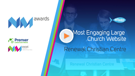 Thumbnail for entry #CNMAC13 // Most Engaging Large Church Website
