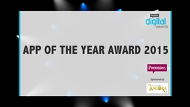 Thumbnail for entry App of the Year Award // Premier Digital Awards 2015