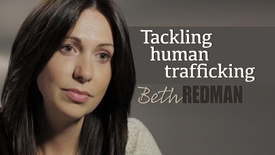Thumbnail for entry Beth Redman // Tackling human trafficking