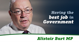 Thumbnail for entry Alistair Burt MP // Best Job in Government