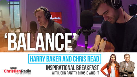 Slam poets Harry Baker and Chris Read perform Balance // Inspirational Breakfast