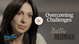Beth Redman // Overcoming challenges