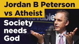 Thumbnail for entry Jordan Peterson debates atheist on why we still need God in modern society