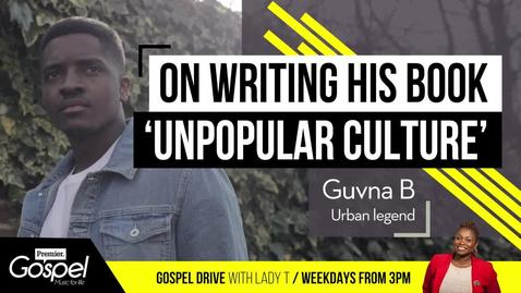 Guvna B on writing his new book 'Unpopular Culture'