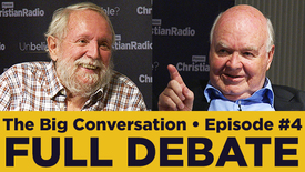Thumbnail for entry Michael Ruse vs John Lennox • Science, faith, and the evidence for God