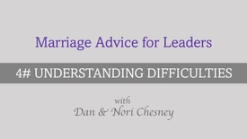 Thumbnail for entry Marriage Advice for Leaders - Tip #4