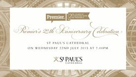 Thumbnail for entry Premier's 20th Anniversary Celebration // Watch