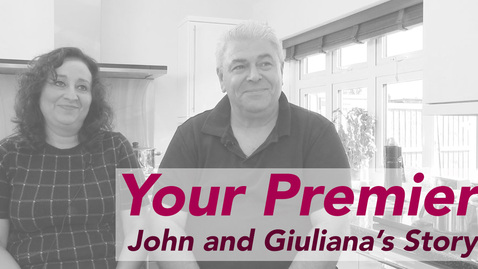 John and Giuliana's Story // Your Premier
