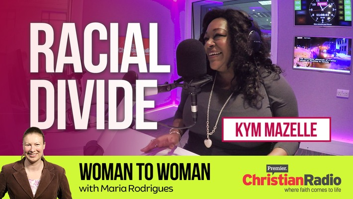 Black and White Divide // Kym Mazelle on Woman to Woman