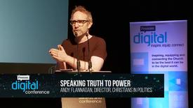 Thumbnail for entry Speaking truth to power // Andy Flannagan // PremDac17