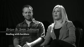 Thumbnail for entry Brian & Jenn Johnson - Dealing with hecklers