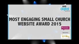 Thumbnail for entry Most Engaging Small Church Website Award // Premier Digital Awards 2015