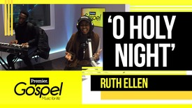Ruth-Ellen performs 'O Holy Night' // Gospel Drive with Lady T