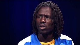 Thumbnail for entry Interview: Emmanuel Jal