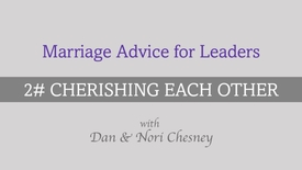 Thumbnail for entry Marriage Advice for Leaders - Tip #2