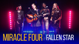 Thumbnail for entry Swiss girl group Miracle Four perform 'Fallen Star'