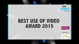 Thumbnail for entry Best Use of Video Award // Premier Digital Awards 2015
