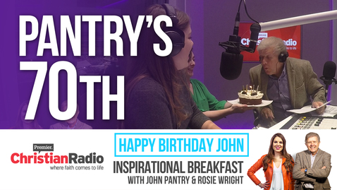 Inspirational Breakfast Celebrates John Pantry's 70th Birthday!
