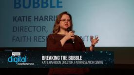 Thumbnail for entry Breaking the bubble // Kate Harrison // PremDac17
