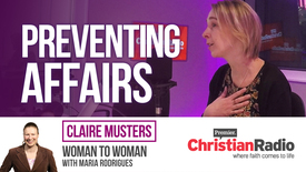 Thumbnail for entry Can Churches prevent affairs? // Claire Musters on Woman to Woman