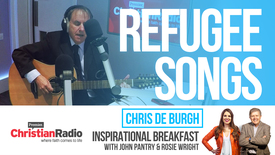 "Thumbnail for entry Refugees ""just want to go home"" // Chris de Burgh on Inspirational Breakfast"