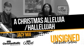 Thumbnail for entry Jacy Mai performs 'A Christmas Alleluia / Hallelujah' // Unsigned with Loretta Andrews