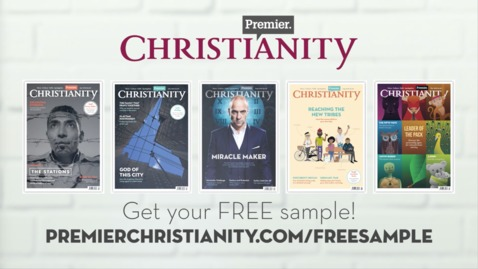 Free sample copy of Premier Christianity magazine