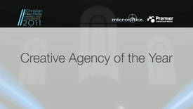 Thumbnail for entry Award: Creative Agency of the Year