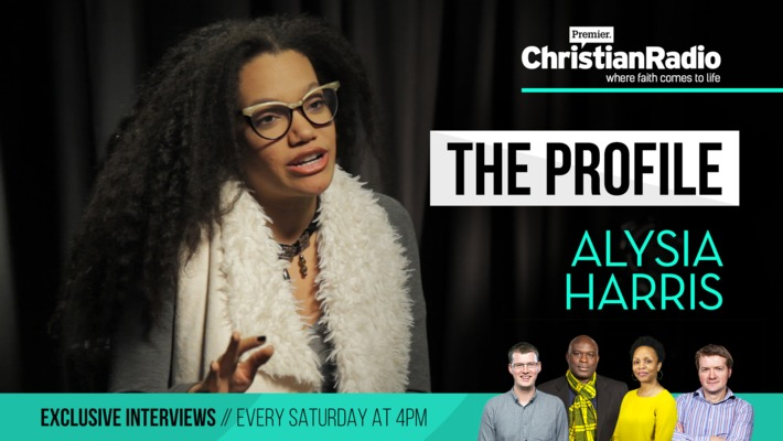 Alysia Harris performs her spoken word poetry // The Profile