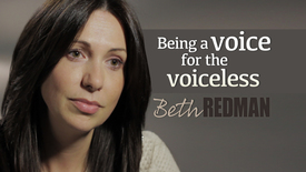 Thumbnail for entry Beth Redman // Being a voice for the voiceless
