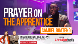 "Thumbnail for entry ""I would've struggled without my Bible on BBC's The Apprentice"" // Samuel Boating on Inspirational Breakfast"