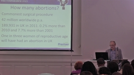 Thumbnail for entry Abortion // Trevor Stammers // Unbelievable? Conf. 2013