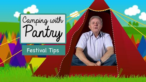 Festival Tips // Camping with Pantry