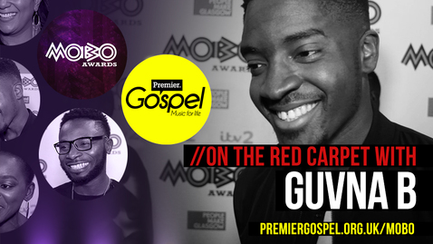 Guvna B // Premier Gospel at the Pre-MOBO Awards 2016