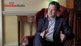 Thumbnail for entry Nick Clegg welcoming election interventions from Churches // The Profile