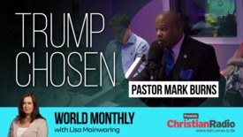Thumbnail for entry Did God choose Trump? // Pastor Mark Burns on World Monthly
