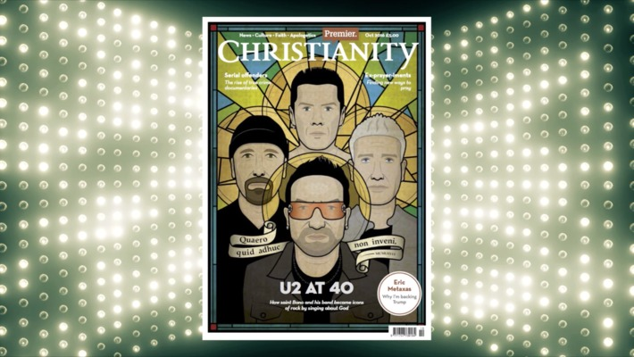 U2 at 40, Eric Metaxas, and new ways to pray! // Premier Christianity [OCT 2016]