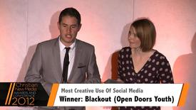 Thumbnail for entry Award: Most Creative Use of Social Media