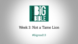 Lent: 'Not a Tame Lion' with Dr Rowan Williams #BigRead13