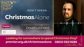 Thumbnail for entry Don't spend... Christmas Alone // A message from David Leonard