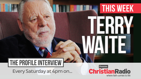 Thumbnail for entry Terry Waite on The Profile // Premier Christian Radio