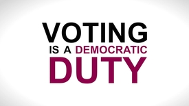 Thumbnail for entry Elections and Voting