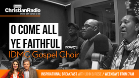 "Thumbnail for entry IDMC Gospel Choir sing ""O Come All Ye Faithful"" // Inspirational Breakfast"