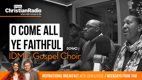 "IDMC Gospel Choir sing ""O Come All Ye Faithful"" // Inspirational Breakfast"