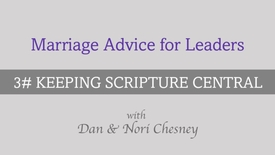 Thumbnail for entry Marriage Advice for Leaders - Tip #3