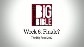 Week 6: Finale? (Tom Wright)