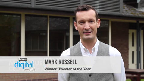 Tweeter of the Year // Premier Digital Awards 2016